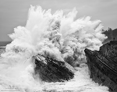 Don't Turn your Back (Darren Barnes Photography) Tags: dont turn your back dontturnyourback oregon pacific ocean pacificocean black white blackandwhite bw dwoodphotography dwoodphotographycom landscape seascape 2019