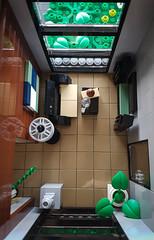 Artsand House MOC. Livingroom overview. (betweenbrickwalls) Tags: lego afol moc legomoc architecture house building home architecturephotography living modern