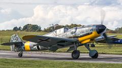 Messerschmitt Bf-109G6 (kamil_olszowy) Tags: messerschmitt bf109g6 warbird legendary fighter german zirchow hangar10 fly in