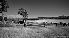 Barn and Corral in Valle Grande (LDMcCleary) Tags: