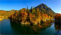Stausee Klaus (robert.pechmann) Tags: panorama stausee klaus oberösterreich herbst austria fluss steyr nature landscape