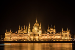 Parliament Building at Night, Budapest (Geraint Rowland Photography) Tags: lightroom longexposure nightphotography art architecture gothic parliament parliamentbuildingatnight budapest visithungary europe politics culture wwwgeraintrowlandcouk river beauty wanderlust awe gettyimages thehungarianparliamentbuildingatnightinbudapest zsoltschuller