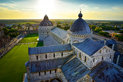 Cattedrale di Pisa (Valdy71) Tags: pisa church cattedrale toscana italy italia sunset color valdy nikon travel tramonto