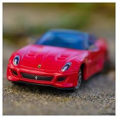 porsche - fake or no fake 😉 - (dkphoto74) Tags: lumix gx8 panasonic 60mmmacro olympus60mm red porsche car fake macromondays