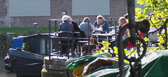 Sunny coffee stop (chericbaker) Tags: brentford ryebythewater canalside