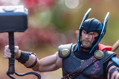 I Lost His Mighty Left Hand (misterperturbed) Tags: avengers mezco mezcoone12collective one12collective ragnarok thor