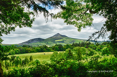 County Wicklow (Holfo) Tags: hdr powerscourt framed ireland mountain wicklow nikon d750 hills irish green hill fields rural countryside beautiful