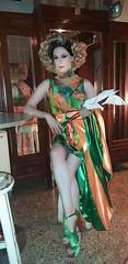Stefania Visconti performance (Stefania Visconti) Tags: stefania visconti attrice modella actress model arte artista artist spettacolo performer transgender travesti tgirl ladyboy shemale crossdresser italian
