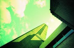 Tate Modern (pho-Tony) Tags: lomolcw tatemodern xpro fujivelvia halfframe lomography lomolcwide lcwide 35mm 17mm fullframe minigon 1 ultrawideangle lens minigon17mm superwide ultrawide lcw analogue analog ishootfilm