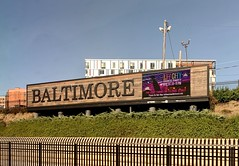 Baltimore Sign (Mr.TinDC) Tags: signs sign amtrak baltimore maryland md