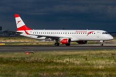 Austrian / ERJ195 / OE-LWQ / EDDF 18 (_Wouter Cooremans) Tags: fra eddf frankfurt frankfurtammain spotting spotter avgeek aviation airplanespotting austrian erj195 oelwq 18