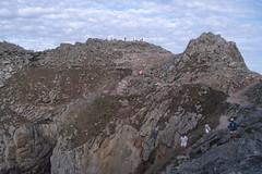 Bretagne_1989 (claudia.schillinger) Tags: bretagne france frankreich pointeduraz rocks