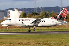 ES-NSD_11 (GH@BHD) Tags: esnsd saab saab340 saab340b nyxair loganair log lm aircraft aviation airliner propliner turboprop bhd egac belfastcityairport