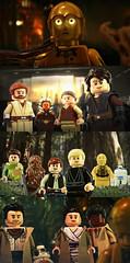 LEGO Star Wars: The Rise of Skywalker - 'One Last Look' (MGF Customs/Reviews) Tags: lego star wars the rise skywalker c3po death memory wipe reprogram anakin obiwan ahsoka padme luke leia han solo chewbacca r2d2 rey poe dameron finn bb8 custom figure minifigure diy fan art edit