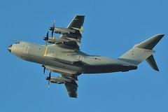 Airbus A400M Atlas C1 ZM419 at home base , RAF Brize - Norton . (Bob Symes) Tags: raf bzz atlas atlasc1 airbus turboprop 077 a400m