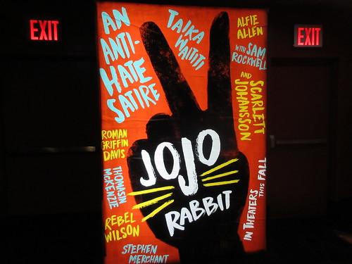 Jojo Rabbit Poster >> 2019 Jojo Rabbit Poster Amc Lincoln Square 13 Nyc 7574 A