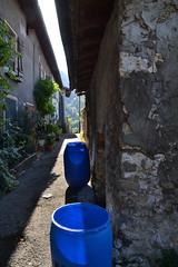 rue porte Agnès (Jeanne Menjoulet) Tags: rueporteagnès pontenroyan ruelle