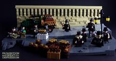 1929 - Great Depression and Prohibition 1 (modestolus) Tags: greatdepression roguebricks lego legobuilding legobrick legomoc legonerd legominifig legohub legotoy legocontest prohibition 1929 americandream usa moc mocs minifig minifigs newyork ny