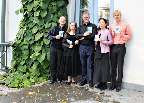 Plokkflöödiansambel Gamut Consort Heimtali Põhikoolis. Foto: Eneli Rimpel