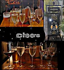 Double bubbles... Cheers (Orchids love rainwater) Tags: hss drinks pub cheltenham