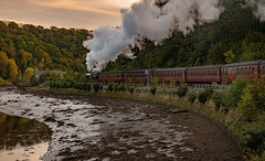Goodbye Whitby (Mister Oy) Tags: k1 class train steam thompson peppercorn 62005 nikond850 nikon2470mmf28evr whitby esk river nymr