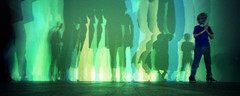 Olafur Eliasson - Your Uncertain Shadow (pho-Tony) Tags: lomolcw tatemodern xpro fujivelvia halfframe lomography lomolcwide lcwide 35mm 17mm fullframe minigon 1 ultrawideangle lens minigon17mm superwide ultrawide lcw analogue analog ishootfilm
