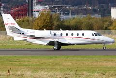 SE-RIL_01 (GH@BHD) Tags: seril cessna c560 c560xl citation citationexcel citationexcelxls waltaireuropeab belfastcityairport bhd egac bizjet corporate executive aircraft aviation