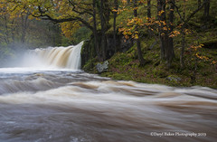 Sgwd ddwi uchaf (Daryl 1988) Tags: autumn colour landscape landscapephotography image walk water waterscape wales autumncolour river waterfall sgwdddwiuchaf afonnedd countryside beautiful exposure longexposure visitwales view weather season adventure inexplore explore slowshutter nikon d500 breconbeacons waterfallcountry country outdoors october 2019 outstandingbeauty wood 1680mm