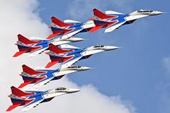 Swifts Aerobatic Team (Nils Mosberg) Tags: maks2019 zhukovsky strizhi swiftsaerobaticteam mig29fulcrum