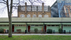 Terrace - Racine (photosam) Tags: london england unitedkingdom fujifilm xe1 fujifilmx prime raw lightroom xf18mm12r xf18mmf2r architecture housing lowrise terrace councilhousing socialhousing camberwell southwark