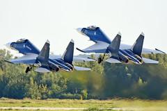 Sukhoi Su-30SM Flanker-H RF-81881 & RF-34013 (Nils Mosberg) Tags: sukhoisu30smflankerh russiannavalaviation zhukovsky maks2019 rf34013 rf81881