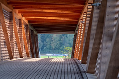 Wooden Construction (Role Bigler) Tags: burgdorf emmental fujifilmxh1 minoltamd40100mmmacro bridge schweiz suisse switzerland wood woodenbridge woodenconstruction woodenway kantonbern