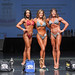 Women's Figure - Class C - 2nd Mindi Gill-1st Michelle Rendle-3rd Cheryl Hutchinson-2