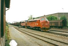 NSB Di 3 621 (Stig Baumeyer) Tags: diesellocomotive diesel diesellokomotive diesellok diesellokomotiv di3 nsb nsbdi3 norgesstatsbaner nohab nohabgm nydqvistholm gm generalmotors gm16567 emd electromotive trondheim trollhättan