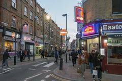 Brick Lane, London E1 (dlsmith) Tags: street sunset london dusk bricklane spitalfields