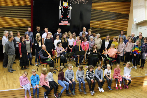 Plokkflöödiansambel Gamut Consort Viljandi muusikakoolis
