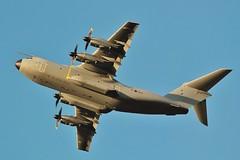 Airbus A400M Atlas C1 ZM419 at home base , RAF Brize - Norton . (Bob Symes) Tags: zm419 atlas atlasc1 bzz raf airbus turboprop a400m