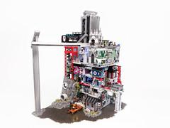 Lego Gotham MOC (TheBrickDen) Tags: lego legomoc batman gotham dccomics city