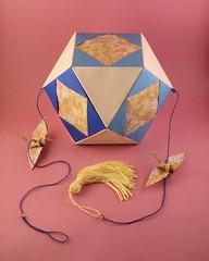 kusudama – Tomoko Fuse (pjoffily) Tags: origami kusudama mobile móbile