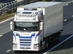 Gary Smith International Scotland, Scania S500 (SO19XDB) On The A1M Southbound (Gary Chatterton 7 million Views) Tags: garysmithinternational scotland scanias500 so19xdb scaniatrucks trucking wagon lorry distribution haulage logistics canonpowershotsx430 photography motorway transport
