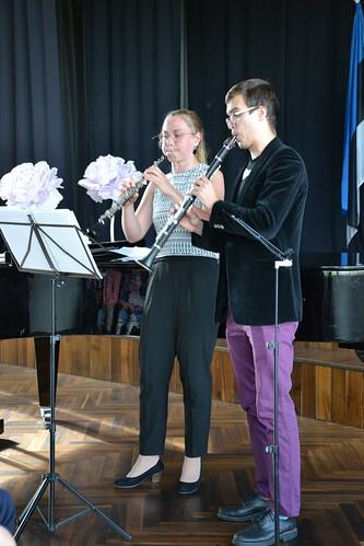 Marten Altrov ja Ingely Laiv Sõmeru Keskusehoones. Foto: Siiri Saarmets