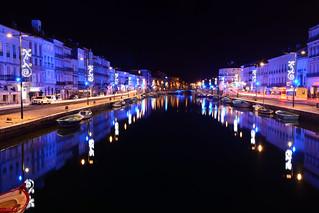 Sète, illuminations 2017