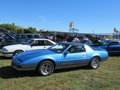 Blue Mark 3 Pontiac Firebird (smaginnis11565) Tags: pontiac pontiacfirebird sportcoupe mark3firebird firebirdformula carshow haverstraw newyork rocklandcounty 2019