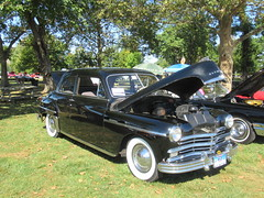 1949 Plymouth Special De Luxe (smaginnis11565) Tags: plymouth plymouthspecialdeluxe twodoorcar carshow haverstraw newyork rocklandcounty 2019