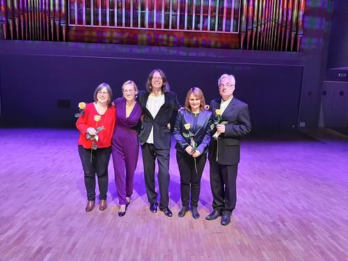 Organistid Tartu Vanemuise kontserdimajas