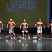 Men's Physique - Class A - 4th Satveer Rai-2nd chael Barreto-1st Daniel De La Cruz-3rd Moein Daryaei- 5th Jl Lino-2