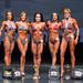Women's Figure - Masters 35+ - 4th Luana Ketting Olivier-2nd Michelle Rendle-1st Jennifer Simmons-3rd Mindi Gill- 5th Teresa Keown-2