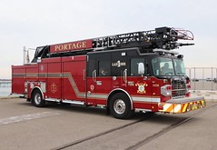 Portage Fire Department (raserf) Tags: portage indiana fire department truck trucks vehicle emergency spartan smeal 2018 advanced life support