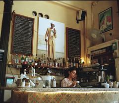 El Dandy - Havana (IV2K) Tags: havana habana lahabana cuba cuban cubano kuba eldandy habanavieja oldhavana mamiya mamiya7 mamiya7ii mediumformat 120film 120 kodak kodakfilm kodakportra kodakportra800 portra portra800 colorfilm colourfilm caribbean coffeeshop bar