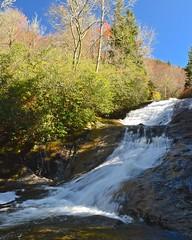 Bubbling Springs Branch (esywlkr) Tags: bubblingspringsbranch water stream cascade waterfall nc northcarolina pisgahnationalforest landscape haywoodcounty nc215